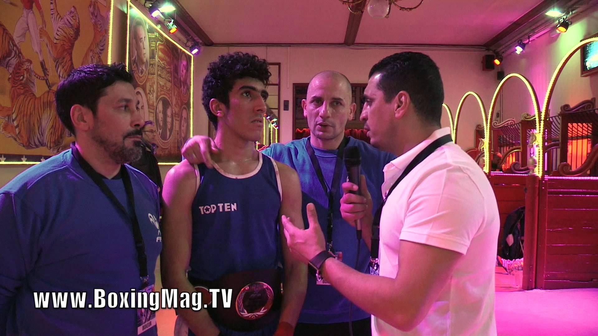 BoxingMag.T V: Amazigh ABROUK, champion de France de boxe 2016, Catégorie 60 kg