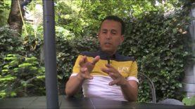 De steun van Ali Lahrouchi aan Said Chaou تضامني المطلق مع المعارض سعيد شعو ضد الديكتاتور محمد 6