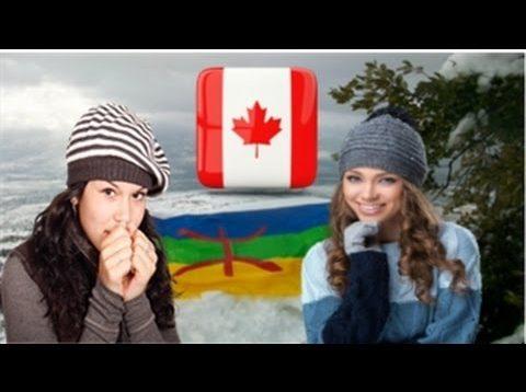Enseignement la langue Tamazight au Canadienne en Atlas morocco