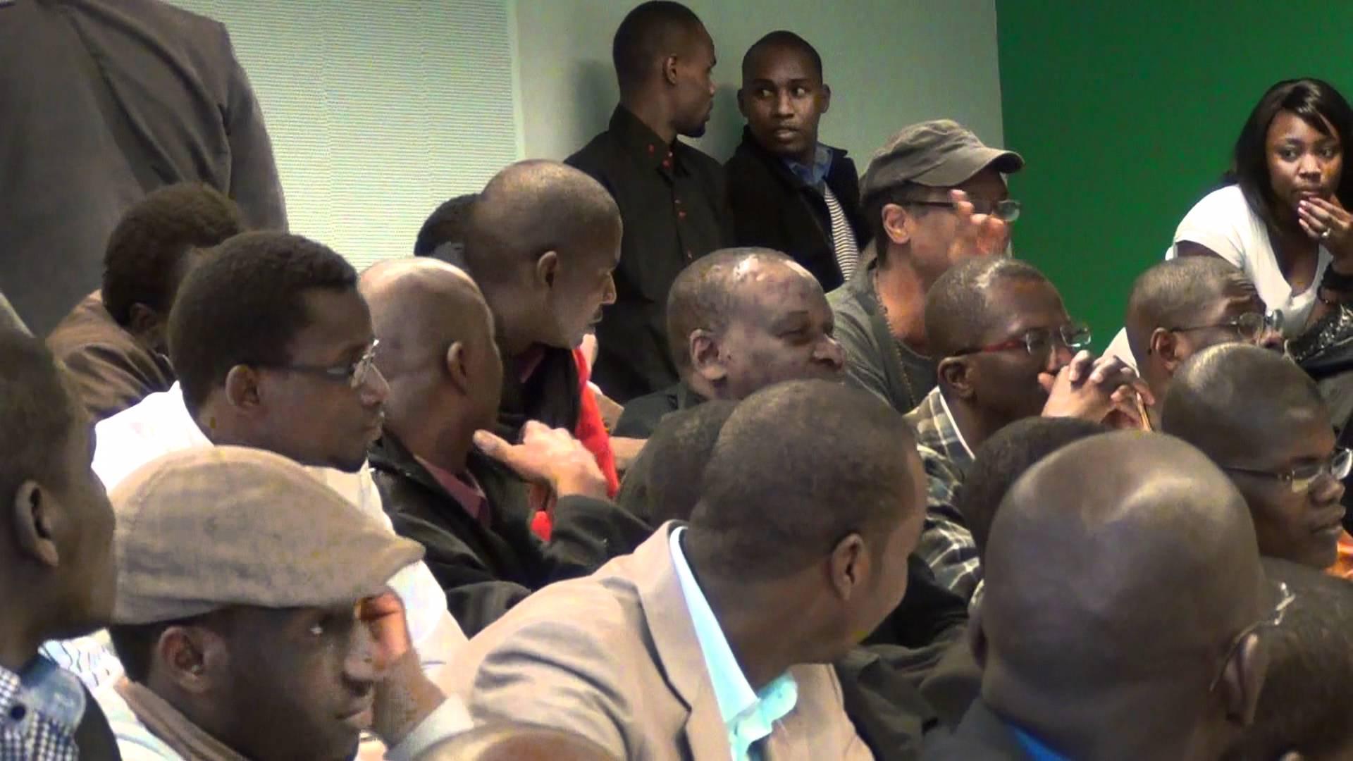 Grande conference sur la crise identitaire en Mauritanie organisé à Université De Saint Denis