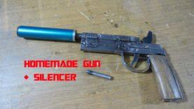 Homemade black powder gun / Comment fabriquer un pistolet