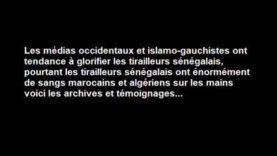 les tirailleurs sénégalais massacre nos frères du Rif Marocain et Algérien l'histoire caché