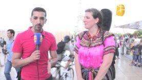 Une Allemande qui chante en Kabyle